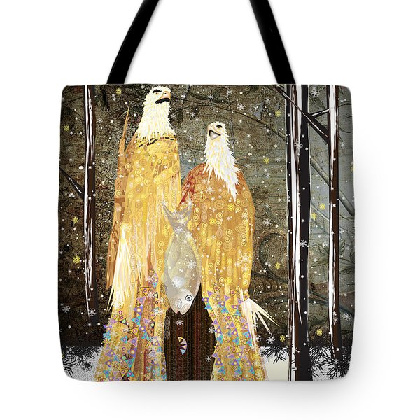 Winter Dress Tote Bag by Kim Prowse