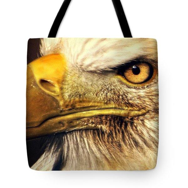 Eagle Eye 7 Tote Bag by Marty Koch