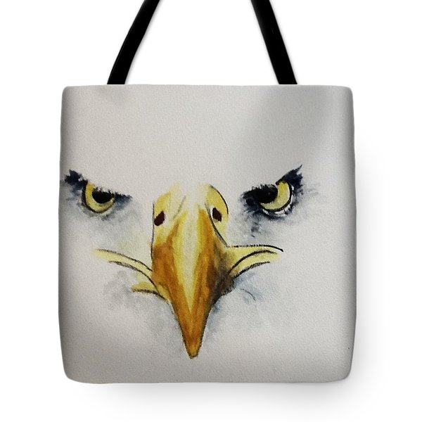 Eagle Eyes Tote Bag