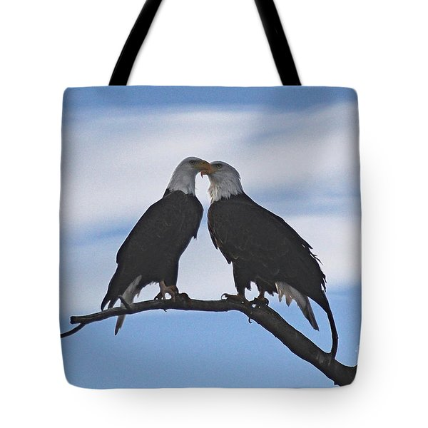 Eagle Love Tote Bag