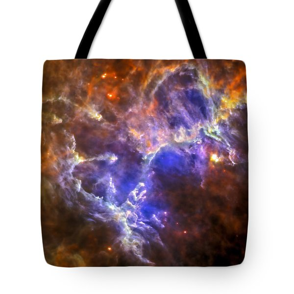 Eagle Nebula Tote Bag by Adam Romanowicz