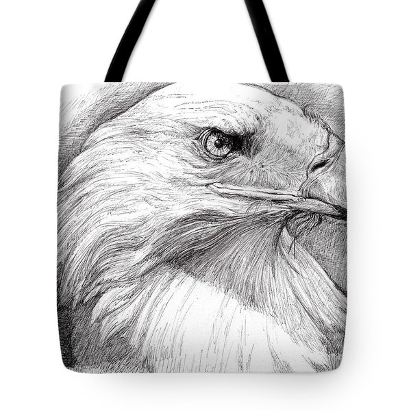 Eagle Portrait Tote Bag