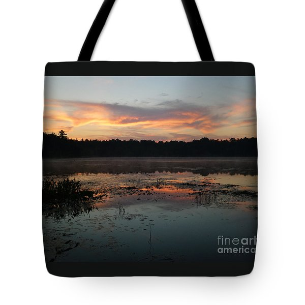 Eagle River Sunrise No.5 Tote Bag