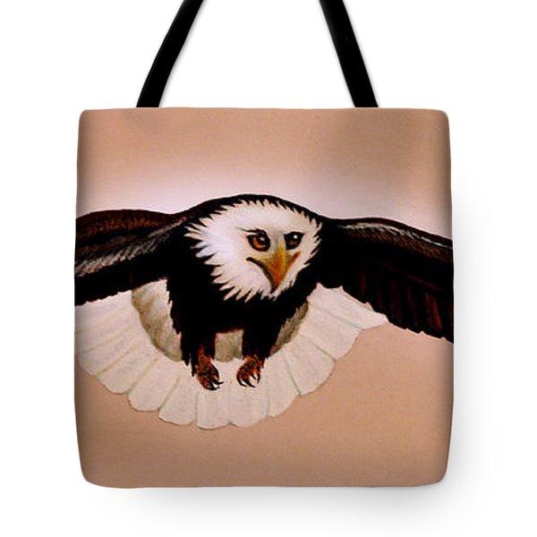 Eagle Stealth Tote Bag by Adele Moscaritolo