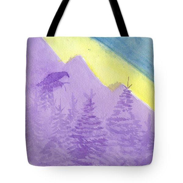 Eagle View Tote Bag