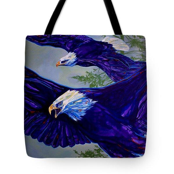 Eagles  Tote Bag by Derrick Higgins