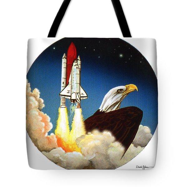 Da165 Eagle's Flight By Daniel Adams Tote Bag