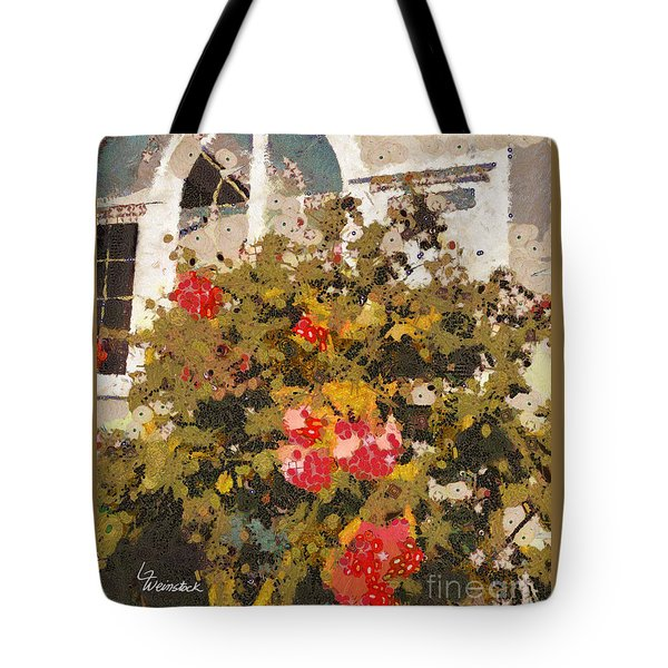 Tote Bag featuring the photograph Alameda Roses by Linda Weinstock