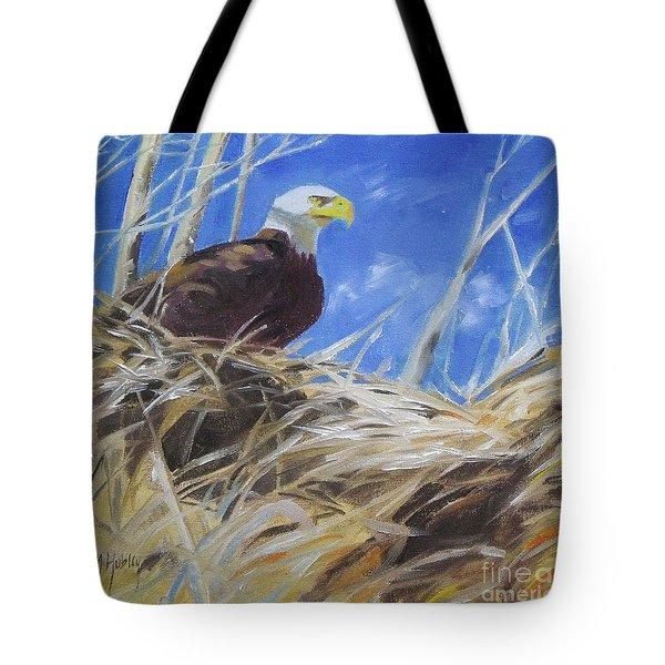 Eagles Nest Tote Bag
