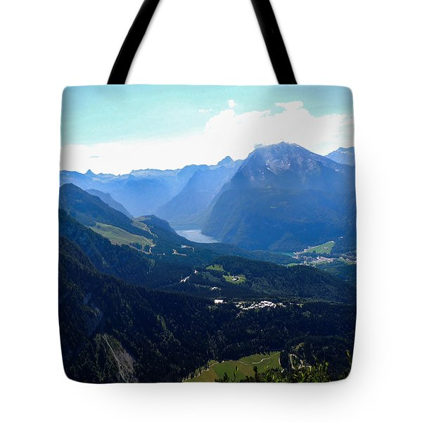 Eagle's Nest Vista Tote Bag