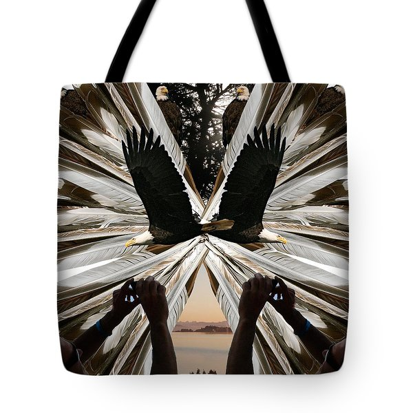 Eagle's Song Tote Bag