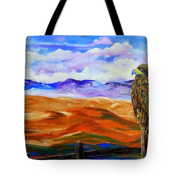 Eagles Watch Tote Bag