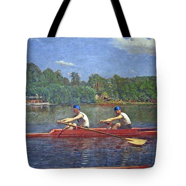 Eakins' The Biglin Brothers Racing Tote Bag