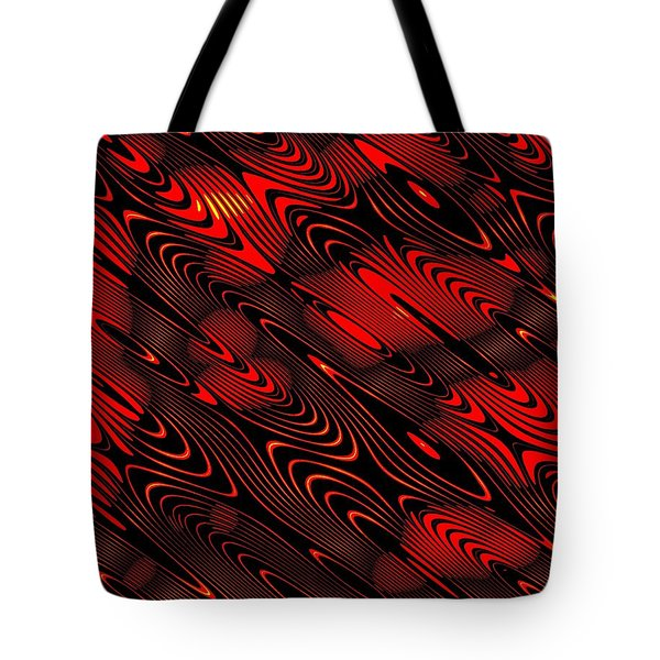 Tote Bag featuring the digital art Eanadan by Jeff Iverson