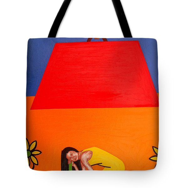 Ear To The Ground Tote Bag by Patrick J Murphy