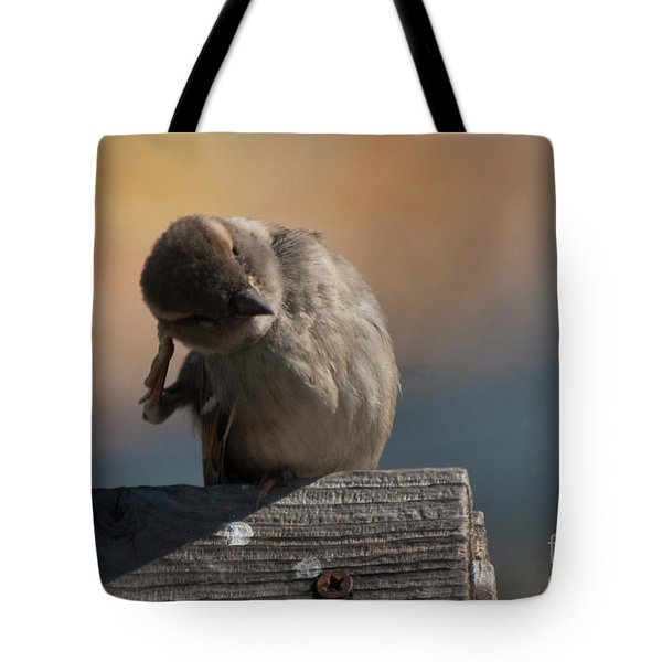 Ear Wax Tote Bag