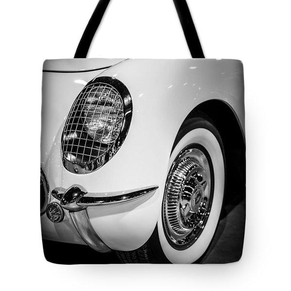 Early 1950's Chevrolet Corvette Tote Bag by Paul Velgos