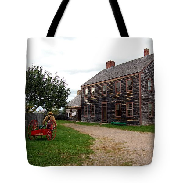 Early America Tote Bag by Ron Haist