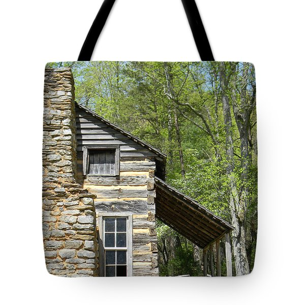 Early Appalachian Home Tote Bag