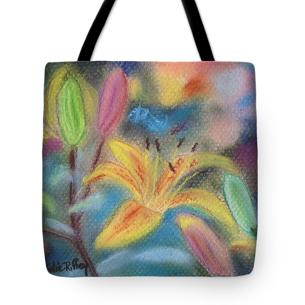 Early Arrival Lily Tote Bag by Julie Brugh Riffey