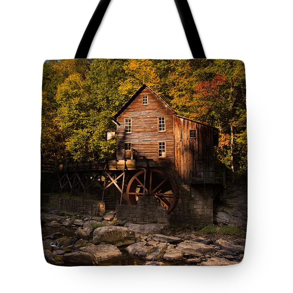 Early Autumn At Glade Creek Grist Mill Tote Bag