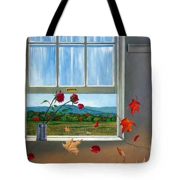 Early Autumn Breeze Tote Bag