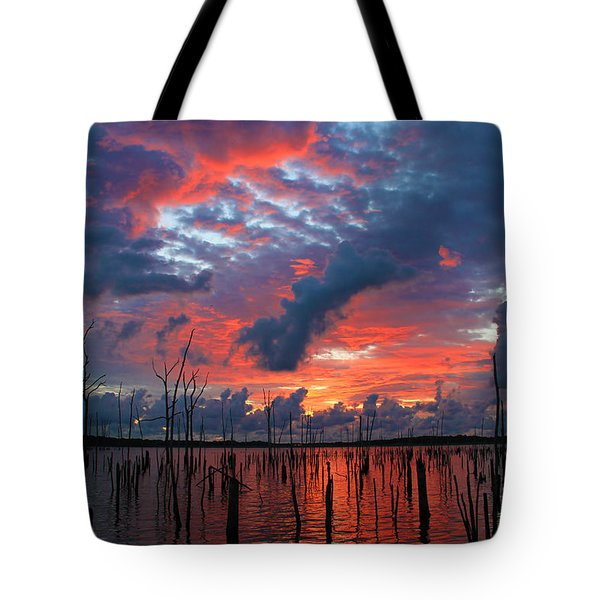 Early Dawns Light Tote Bag by Roger Becker