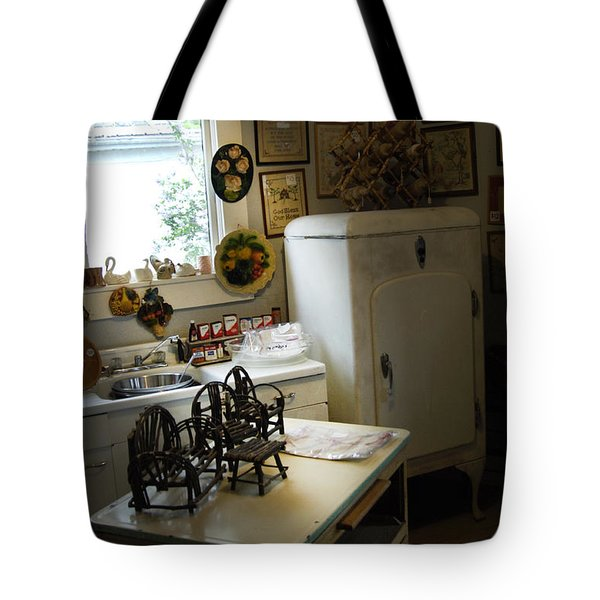 Early Fifty's Kitchen Tote Bag