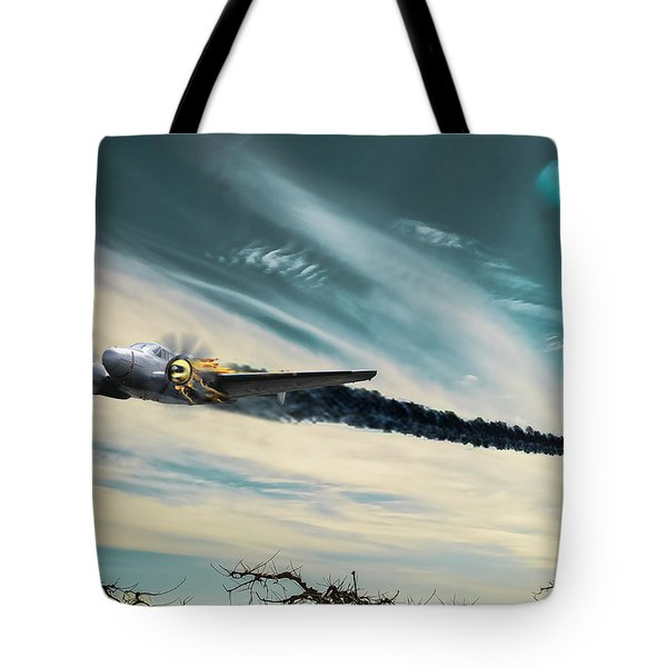 Early Landing Tote Bag