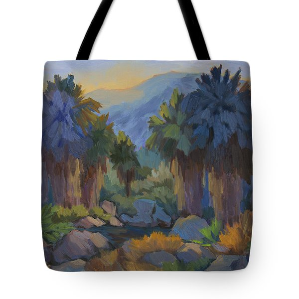 Early Light Indian Canyon Tote Bag