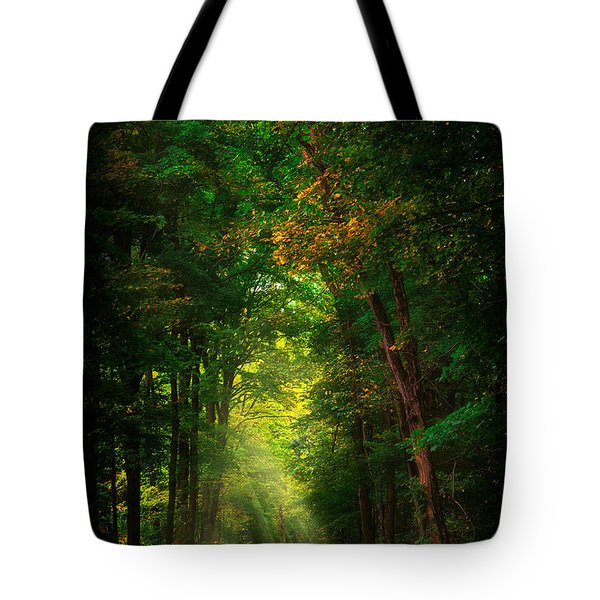 Early  Mist  Tote Bag