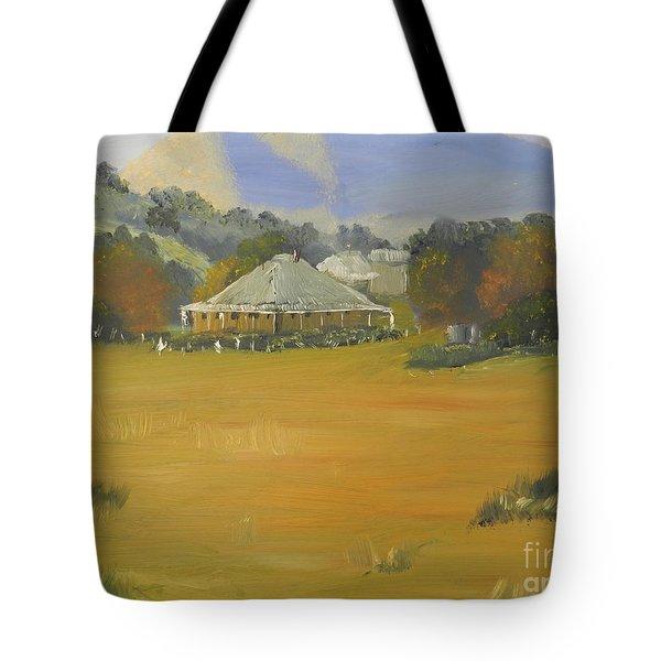 Early Morning At Sofala Tote Bag