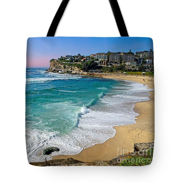 Early Morning Bronte Beach By Kaye Menner Tote Bag