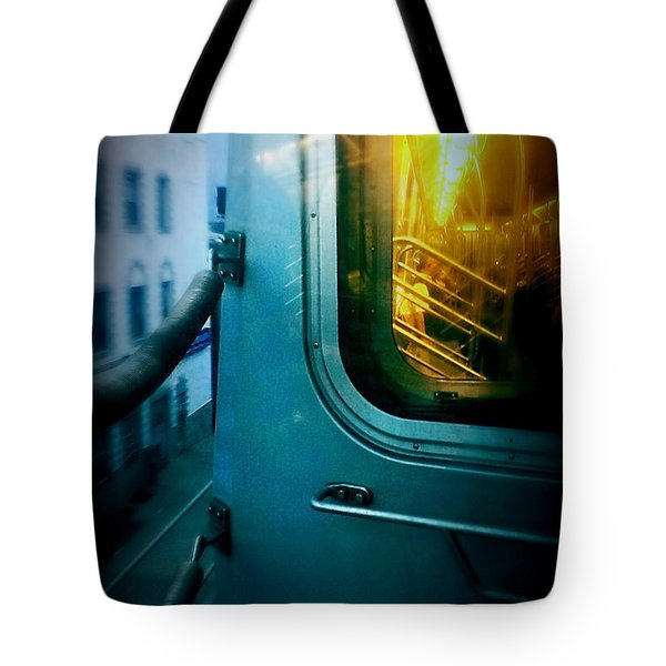 Early Morning Commute Tote Bag by James Aiken