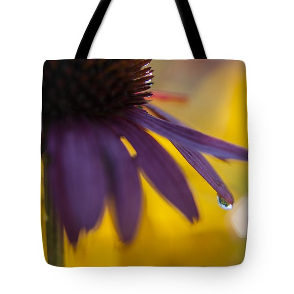 Early Morning Dew Drops Tote Bag