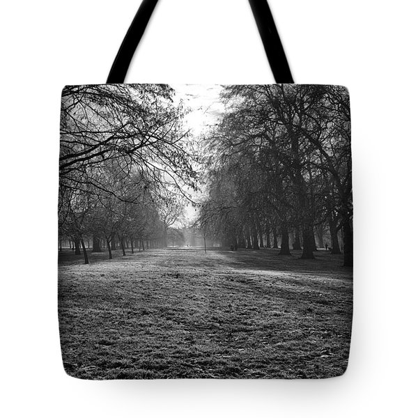 Early Morning In Hyde Park Tote Bag