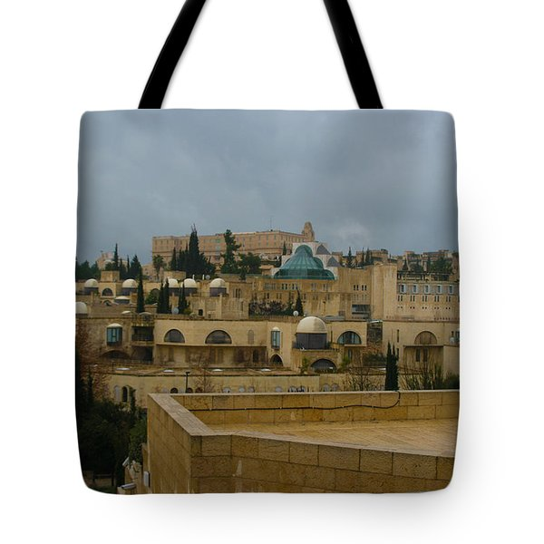 Tote Bag featuring the photograph Early Morning In Jerusalem by Doc Braham