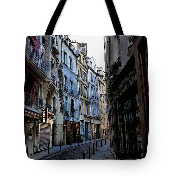 Early Morning In The Latin Quarter Tote Bag by Evie Carrier