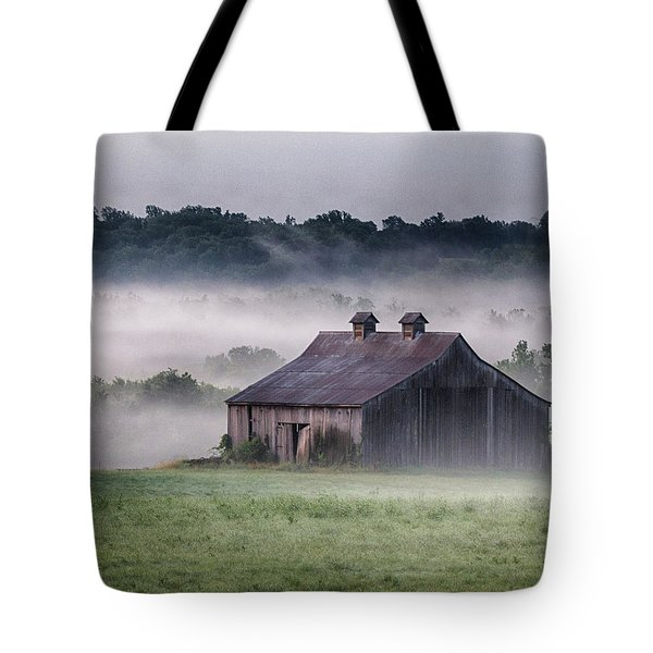 Early Morning In The Mist Standard Tote Bag