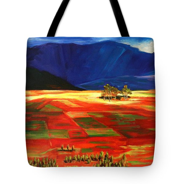Early Morning Light, Peru Impression Tote Bag