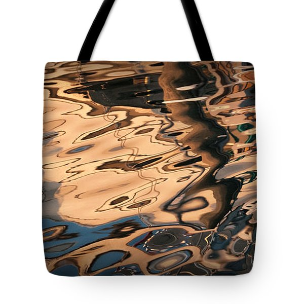 Tote Bag featuring the photograph Early Morning Reflections by Phil Mancuso