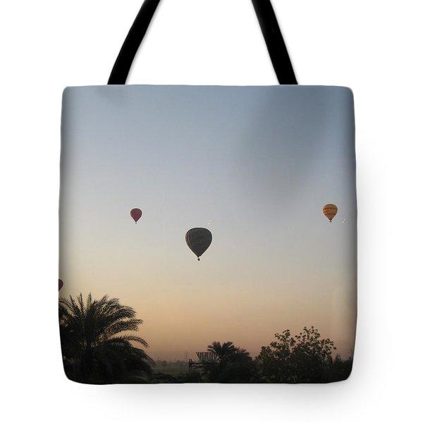 Early Morning Rising Tote Bag by John Malone