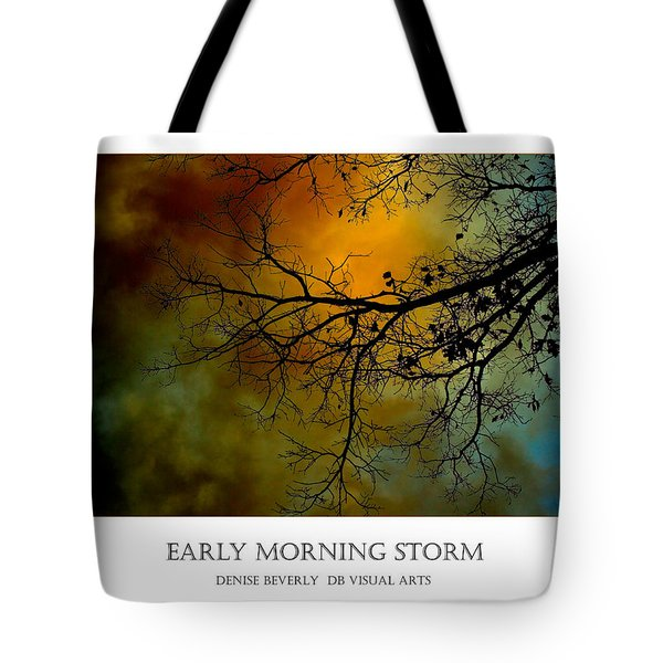 Early Morning Storm Tote Bag
