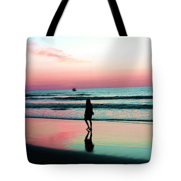 Early Morning Stroll Tote Bag by Dan Stone