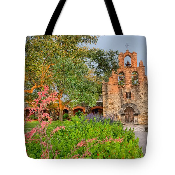 Early Morning Sun Caressing Mission Espada Tote Bag