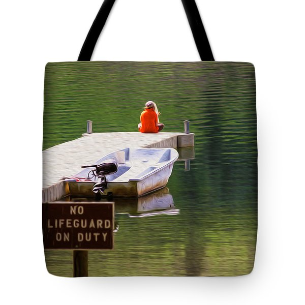 Early One Morning On Patterson Lake Tote Bag by Omaste Witkowski