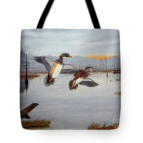 Early Risers Tote Bag by Jeff McJunkin