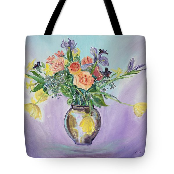 Early Spring Bouquet Tote Bag