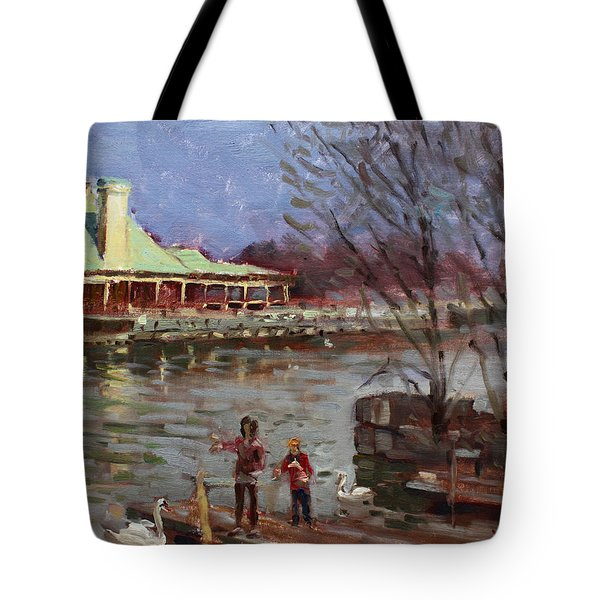 Early Spring In Portcredit Mississauga Tote Bag