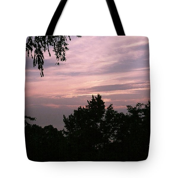 Early Sunrise In Central Illinois Tote Bag